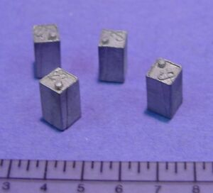 O//On3//On30 1//48 SCALE WISEMAN MODEL SERVICES DETAIL PARTS #O137 SHOP HEATERS