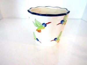 """Vintage Harry and David Ceramic Humming Birds Summer 2006 - 5"""""""