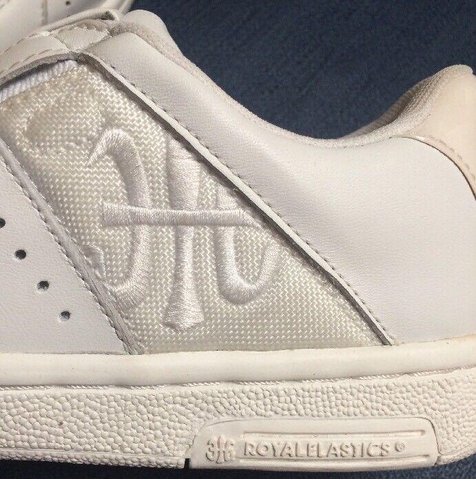 2001 Original Royal Elastics (AU) Limited White Edition Frank Rome Solid White Limited Shoes 9b62b2