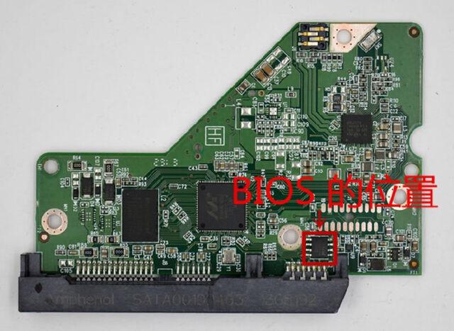 2060-771702-001 REV A//P1 Western Digital PCB WD HDD Logic Contorller Board