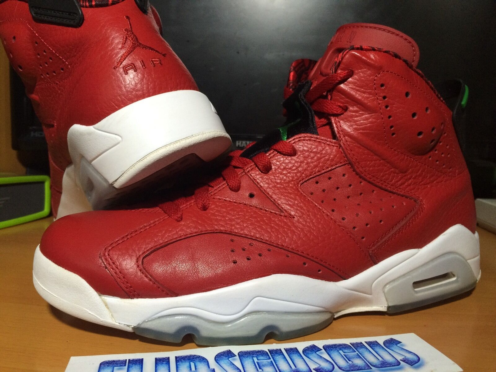 59626370f2ee1d Air Jordan 6 Spizike Red Size Size Size 9.5 (1 3 4 5 11 14 ...