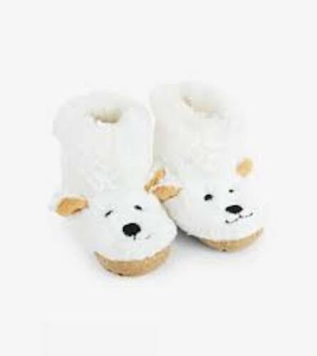 Little Blue House by Hatley/'s  children/'s Polar Bear slouch slippers  Size 11-13