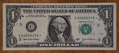 2003A $1 STAR Federal Reserve Note CU