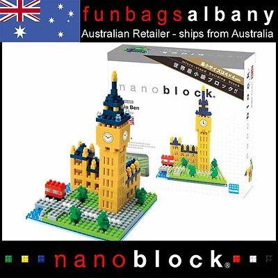 Nanoblock Big Ben micro sized building blocks Nano Block London Clock Tower  NEW