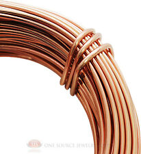 Aluminum Craft Wire 18 Gauge Rose Gold 39 Feet 11.8 Meters Wrapping Sculpture