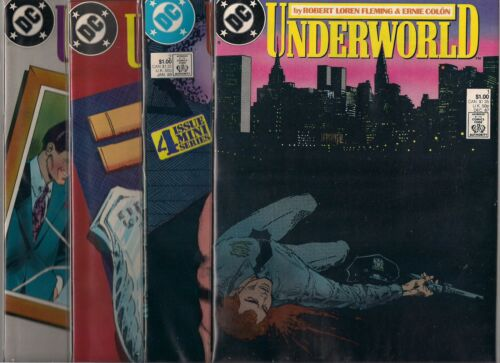 ERNIE COLON UNDERWORLD #1-#4 SET 1980/'S SET NM