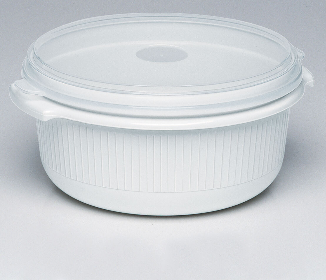 Emsa 4 Set Micro Famille Micro-Ondes Pot Assiette Micro-Ondes