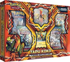 Pokemon TCG Tapu Koko Figure Collection Box Gift Set BRAND NEW IN HAND!!