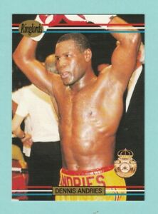 BOXING  -  FAX  PAX  -  RINGLORDS  NO. 19  -  DENNIS  ANDRIES  -  1991