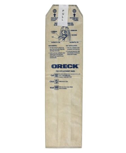 Genuine Oreck HEPA Filtration Odor Fighting Magnesium LW100 Bags 3 Pack