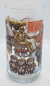 Star-Wars-Return-Of-The-Jedi-1983-Coca-Cola-Burger-King-Glass-Ewok-C-3PO-R2-D2