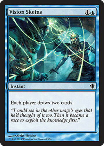 English x4 Vision Skeins MTG Commander 2013 C M//NM