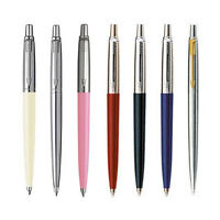 Parker Jotter Standard Ballpoint Ball Pen Stainless Steel Red Black Blue Pink