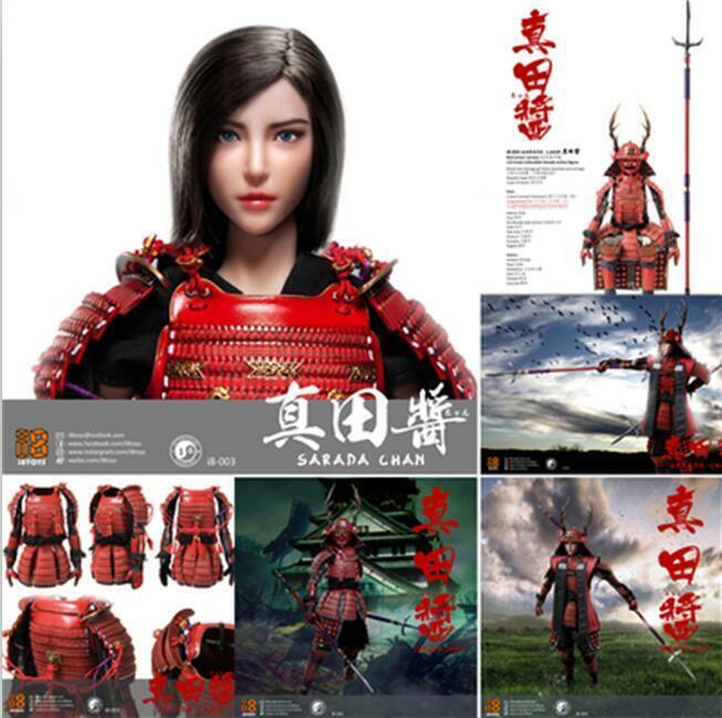 I8TOYS I8-003 1 6th Female warrior Sarada Chan Figure Full Set Collectible Toy