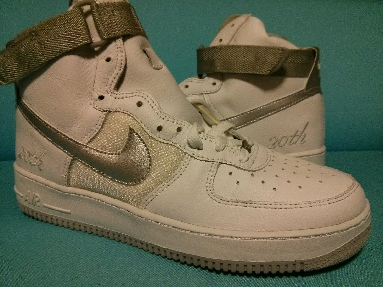 Price reduction DS 2018 NIKE AIR FORCE 1 HI L/M 302347-102 20th Anniversary Price reduction Wild casual shoes