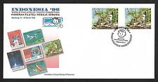 1996 MALAYSIA FDC - INDONESIA STAMP EXHIBITION
