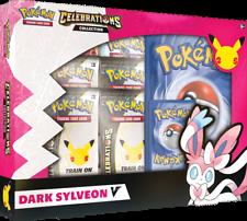 Pokemon Celebrations Dark Sylveon V Box Set Presell Free Shipping! Pokemon TCG