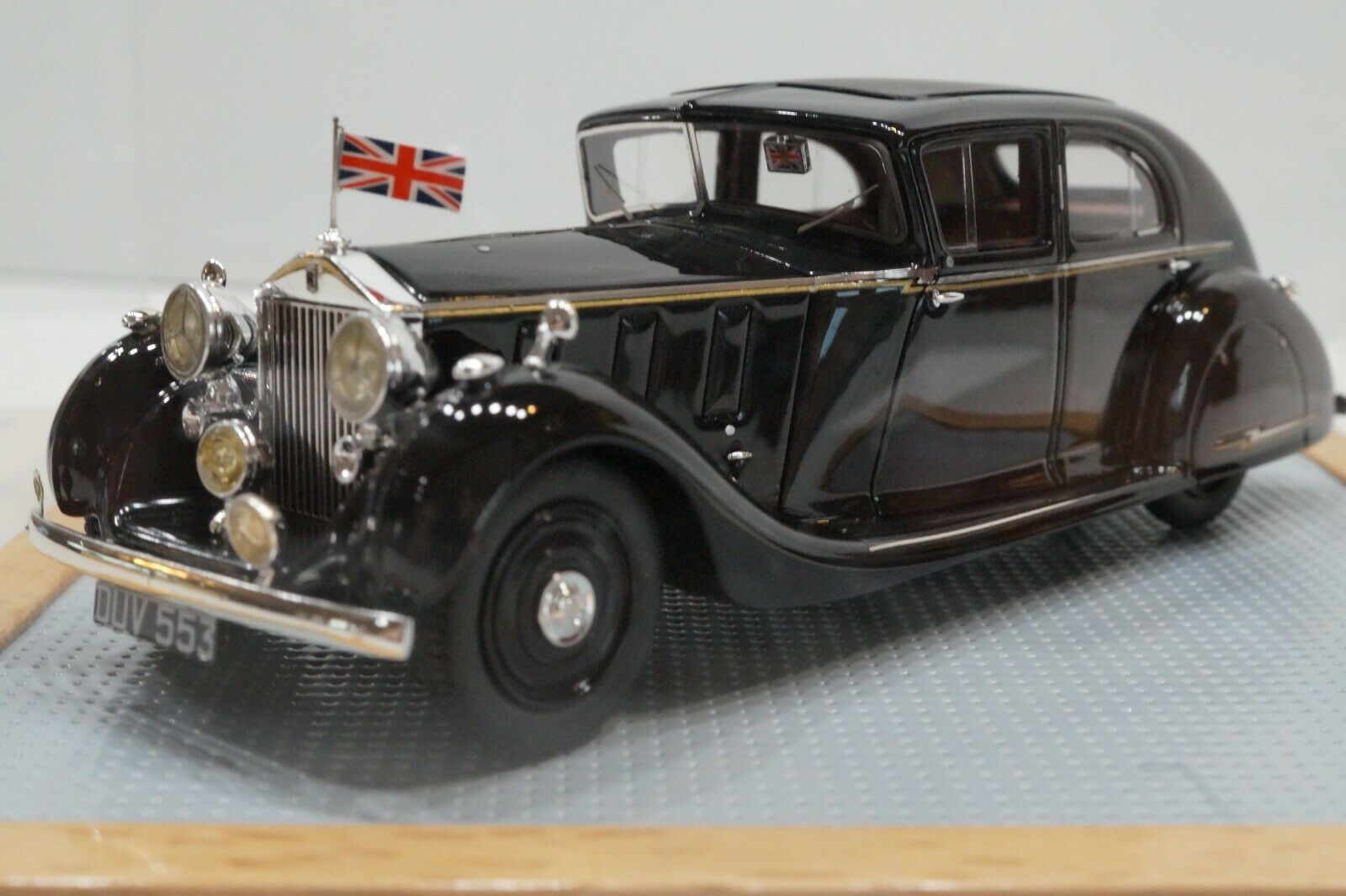 General Montgomery's Rolls-Royce PIII with reverse slanted windshield 1937