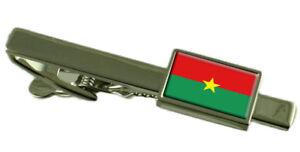 Burkina Faso Pince à Cravate - Barre avec Select Gifts Pochette 6SDdCzAj-09154902-220120191