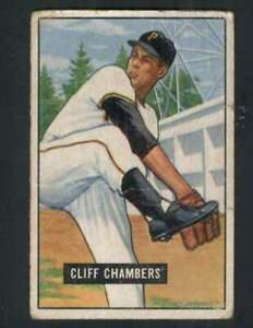 1951-Bowman-131-Cliff-Chambers-GVG-Pirates-73532