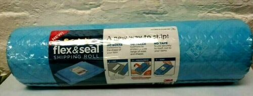 1 Roll Scotch Flex /& Seal Shipping Roll 15 in  x 10 ft 3.33 YDS Cut Fold Press