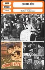 COURTE TETE - Gravey,De Funès,Dax,Richard (Fiche Cinéma) 1957 - Short Head