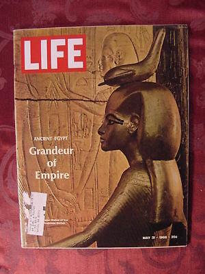2 LIFE Magazine May 31 1968 ~ Ancient Egypt ~ Nolan Ryan ~ De Gaulle ~  Ads