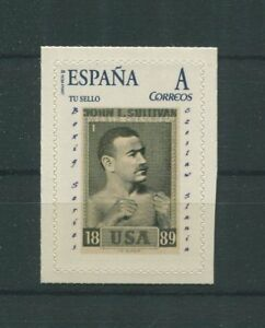 SPAIN-CUSTOM-STAMP-CZESLAW-SLANIA-ENGRAVER-BOXING-SERIES-1962-ONLY-10-MNH-h1717