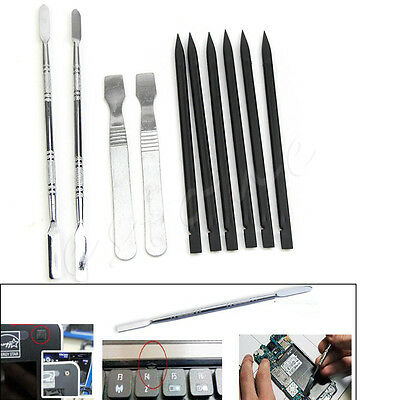 10 in 1 Opening Repair Tools Set Metal Pry Spudger for iPhone iPad iPod Tablets