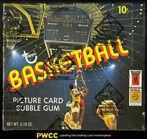 1972 Topps Basketball Wax Box, 24ct Packs, Phil Jackson Erving RC? BBCE AUTH LOA