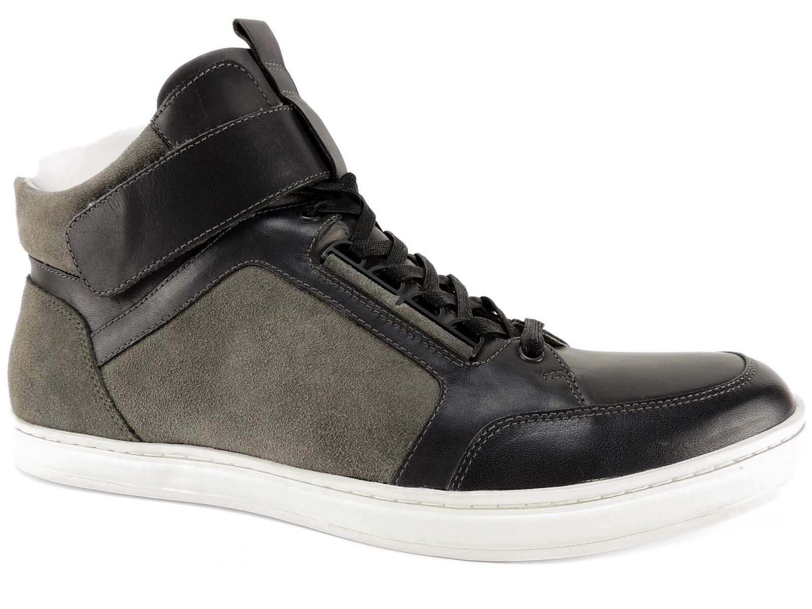 Kenneth Cole New York Men's Brandy High-Top Sneakers Grey Size 11 M