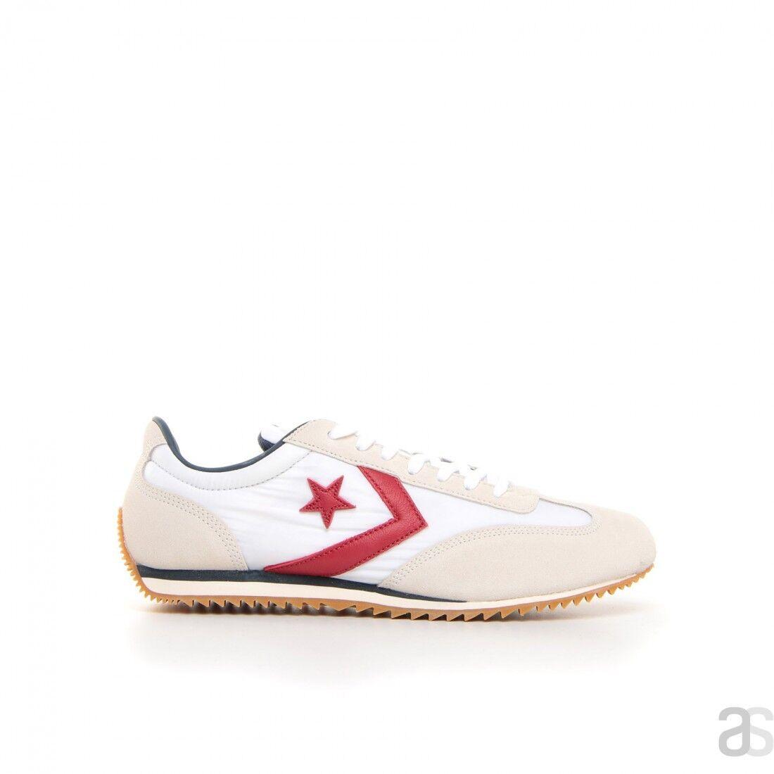 Scarpe sportive uomo CONVERSE TRAINER OX tela bianco e rosso 161233C | A Prezzo Ridotto  | Uomo/Donne Scarpa