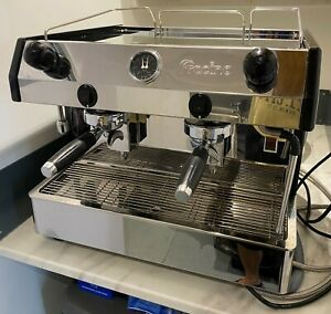 FRACINO BAMBINO 2 GROUP SEMI AUTOMATIC COFFEE MACHINE + WATER SOFTENER