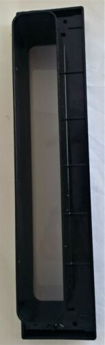 "White Modern 12/"" Letter Box Letter Plate Set With Brushes Timber UPVC Doors D5"