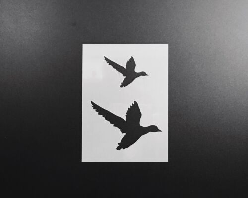 Bird Silhouette Stencil Airbrush Wall Art Craft Painting Home Decor DIY Reusable