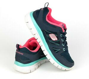navy and pink skechers