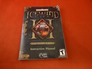 icewind dale ii forgotten realms computer pc instruction manual rh ebay com Popular Video Game Backgrounds Video Games PS3