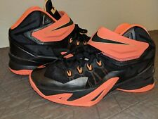 51bb05d3beb8 item 2 Nike LeBron James Zoom Soldier VIII Basketball PEACH BLACK  653641-088 Size 6.5Y -Nike LeBron James Zoom Soldier VIII Basketball  PEACH BLACK ...