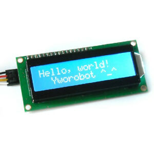Nuevo-Azul-inter-integrated-Circuit-I2C-TWI-modulo-LCD-serie-1602-5V-16x2-pantalla