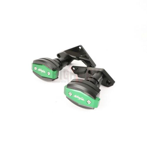 Frame Sliders Anti Crash Pads Protector Guard For Kawasaki NINJA H2 H2R 15-17