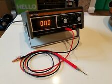 Vintage Bk Precision Model 282 Panaplex Display Multimeter With Probes Tested