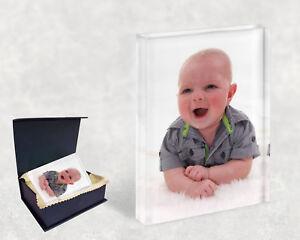 Respectueux Personnalisée Photo Cristal-cadeau Personnalisé-cadeaux D'anniversaire Occasion Cadeaux-afficher Le Titre D'origine Retarder La SéNilité