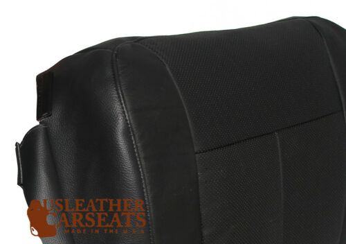 2007-2014 Ford Expedition Passenger Bottom Replacement Leather Seat Cover Black