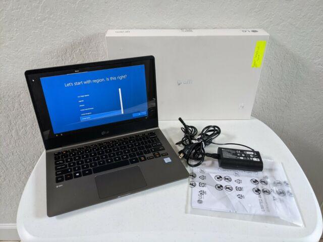 """LG Gram 13Z990 13.3"""" i5-8265U 1.6GHz 8GB DDR4 256GB SSD Windows 10"""