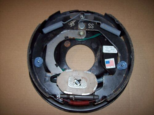 "Dexter 10/"" x 2-1//4/"" 3.5K Left Hand Electric Trailer Brake Backing Plate 3500"