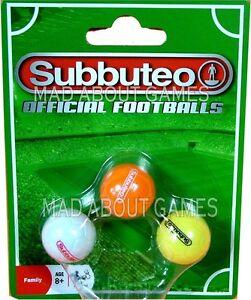 SUBBUTEO Set Palloni Ufficiale Football Ball Calcio in miniatura giocattolo palline