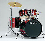 Tama Swingstar 5-Piece Drum Set with Hardware Cymbals and Throne