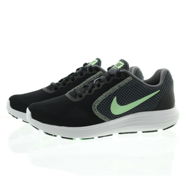 5003a76bfc33 ... WMNS Nike Revolution 3 III Black Green Womens Running Shoes SNEAKERS ..  ...