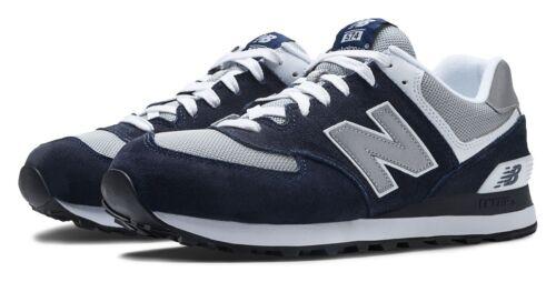 Zapatos New con hombre gris marino para Classics blanco y 574 azul Balance TTXdqr
