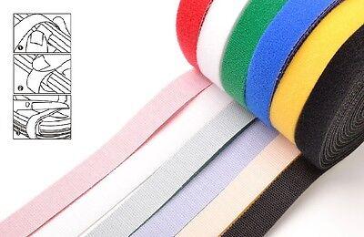 noir//blanc naturel refermables fermeture éclaire ATTACHE-CÂBLE Cravate BANDAGES